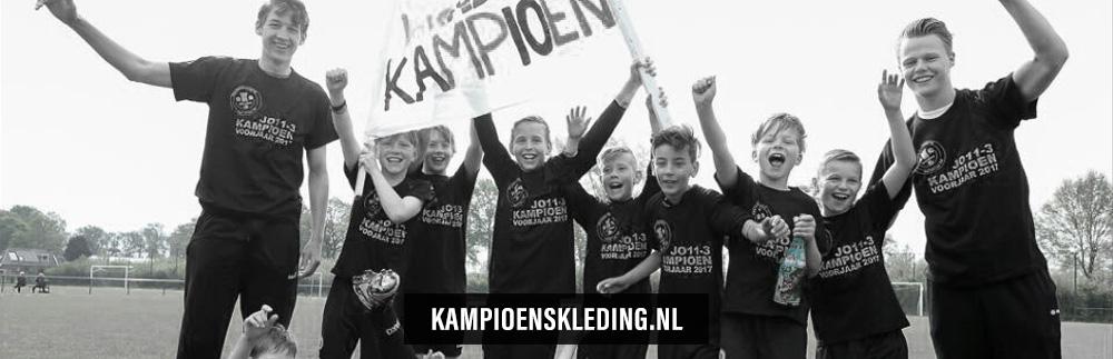 Kampioensshirts snel, eenvoudig en zonder zorgen | kampioenskleding.nl