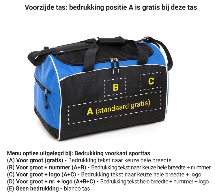Bedrukte sporttassen, simpel en snel besteld | bedruktesporttassen.nl
